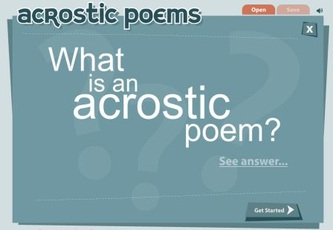 Poetry - Interactive Learning Sites for Education