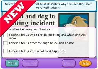 Interactive Learning Sites for Education   Home Writing